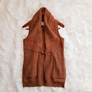Anthropologie Leifsdottir Downy Loops Sweater Vest